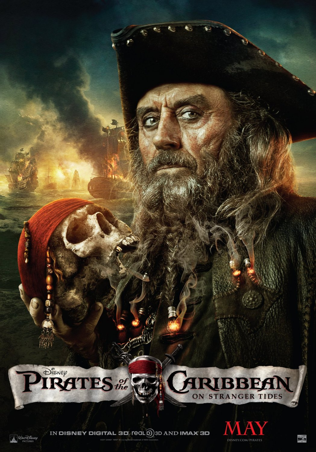 Pirates of the caribbean on stranger tides character posters