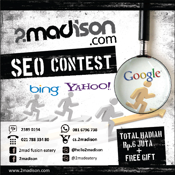 Persaingan di Kontes SEO 2Madison