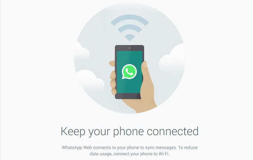 Access Whatsapp from Google Chrome