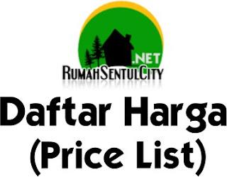 Price List - Rumah Sentul City