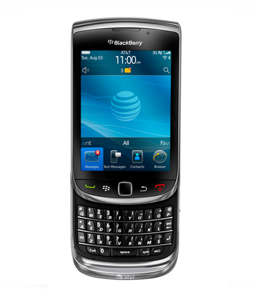 Jual BlackBerry Torch 9800 Black Market