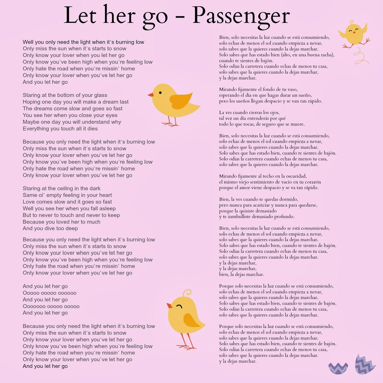 let go letras: