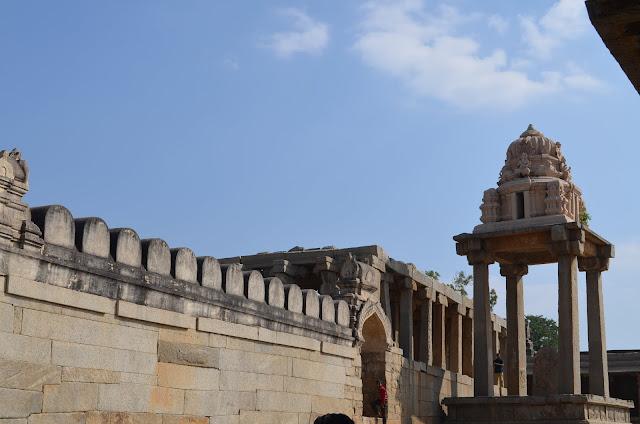 Small Gopuram, Lepakshi reminiscent of Kempegowda Tower, Bangalore