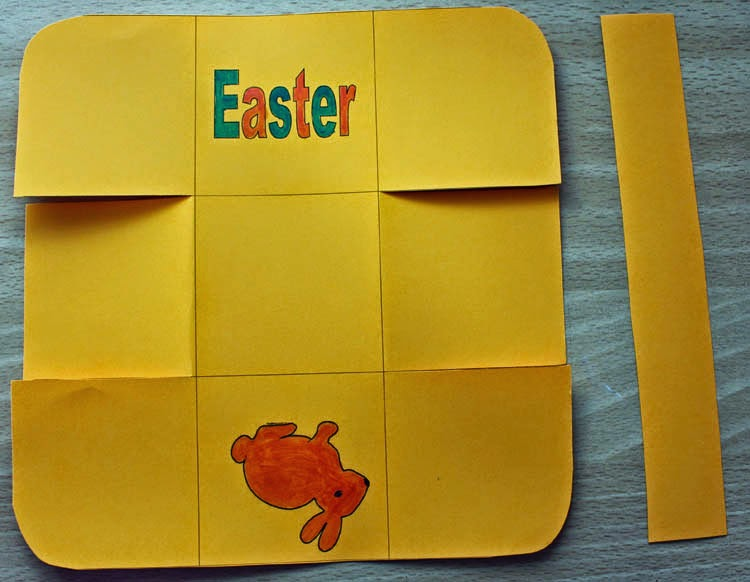 Craft and Activities for All Ages!: Easter Basket to Make - A4 ...