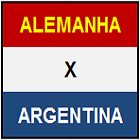 MINIATURA - ALEMANHA x ARGENTINA