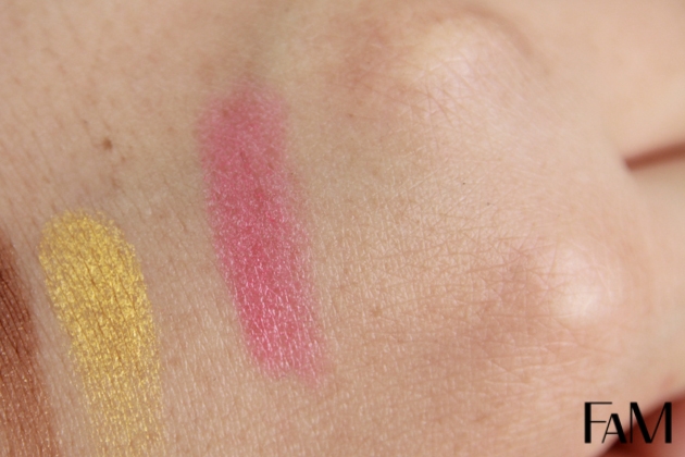 Ipsy MyGlam bag July 2013 pop beauty lipstick coral crush swatches