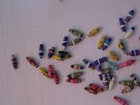 Rollos de papel de regalo para pulseras y collares