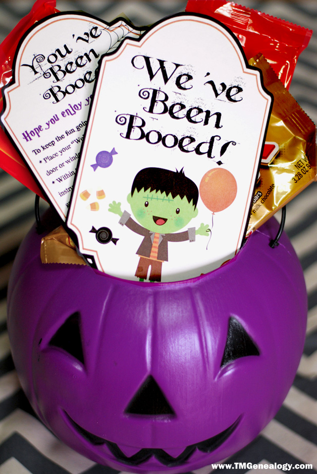 We've Been Booed Printable by Sarah Patterson