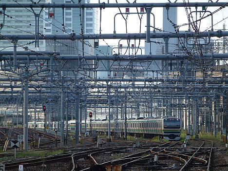 大宮留置E231系(上野~尾久間橋桁交換工事に伴う運行)