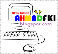 Blog ahmadfki.blogspot.com Open House