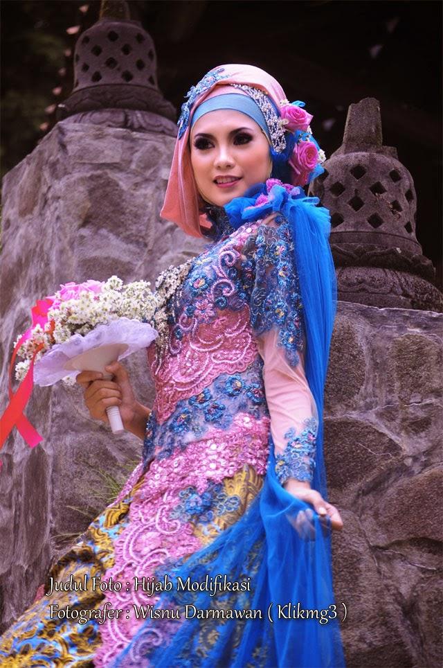 Judul Foto : Hijab Modifikasi | Fotografer : Wisnu Darmawan ( Klikmg3 )