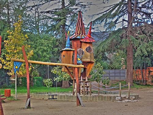 Nuestro rinc n de ideas sitios para ir con los peques por for Parques ninos barcelona