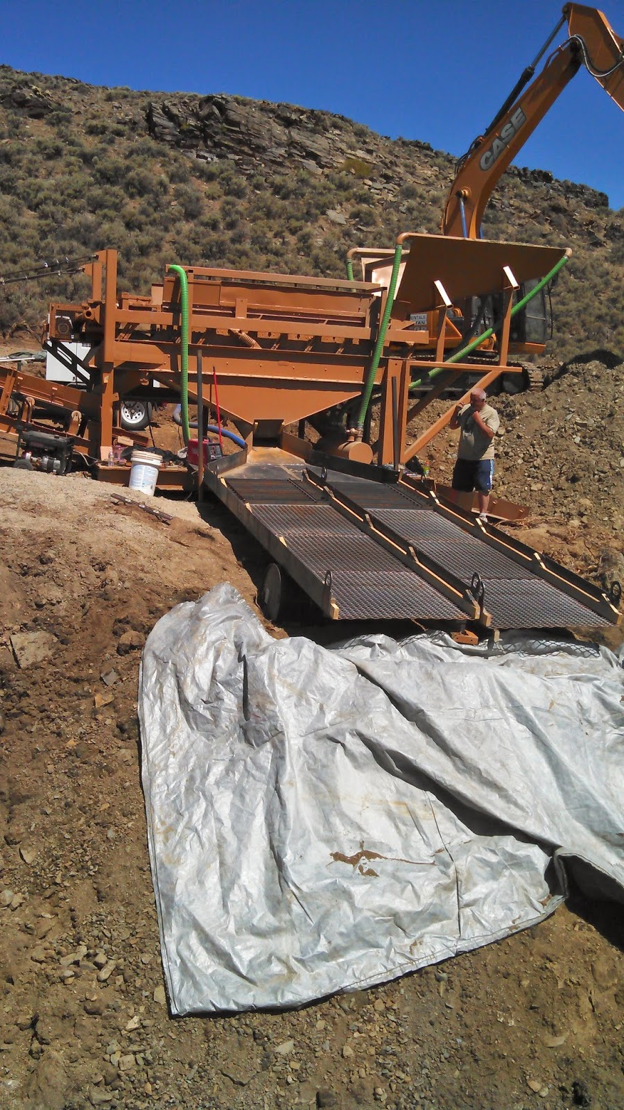 Wash Plant: Vibrating Screen - FOR SALE