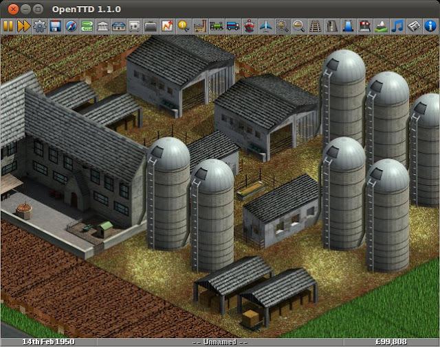 OpenTTD - Transport Tycoon Deluxe HD Wallpaper