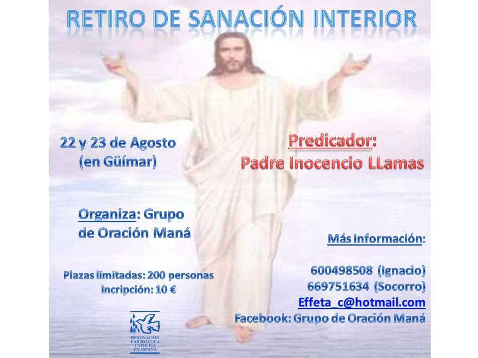Rcc De Canarias 2014 Retiro De Sanaci N Interior