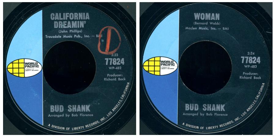 Bud Shank Folkswingers Folk N Flute