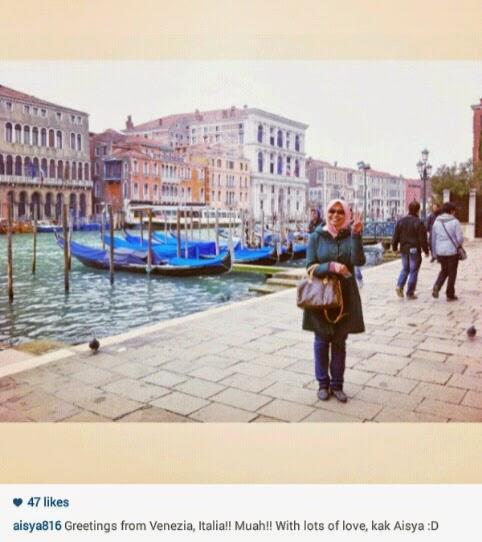 pengalaman, bercuti, negara eropah, itali,