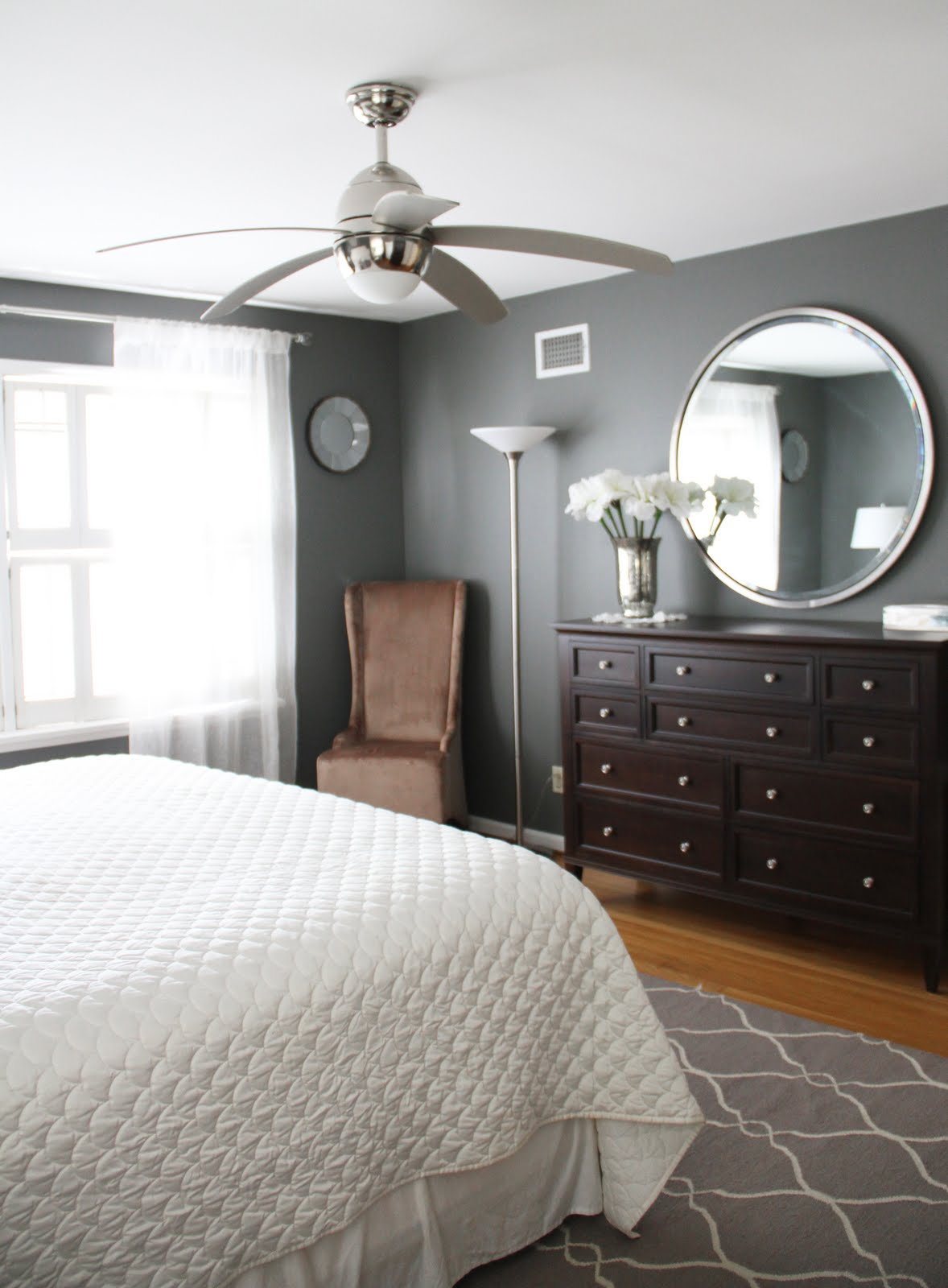 Running From The Law Master Bedroom Makeover Before After