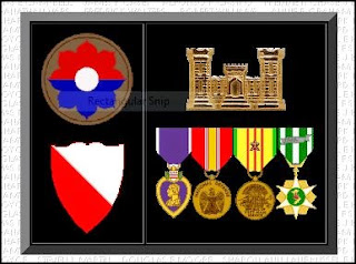 Army Medals for Ronnie L Clark