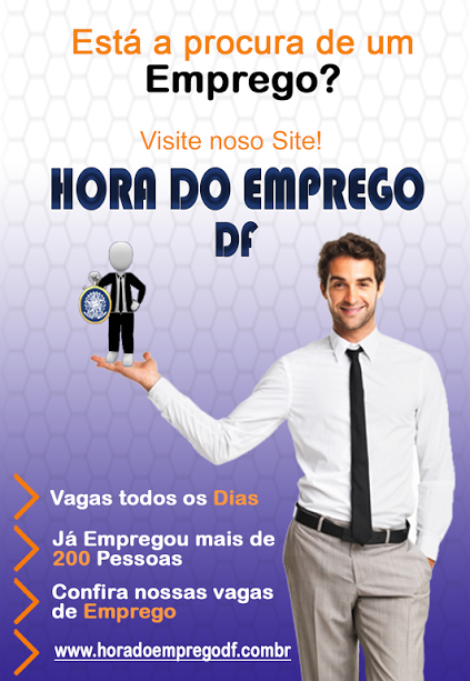 HORA DO EMPREGO DF