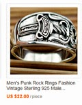 Men's Punk Rock Rings