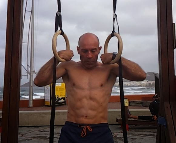 Ring Dips Crossfit Modified