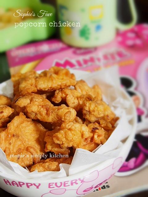 resep popcorn chicken mudah praktis