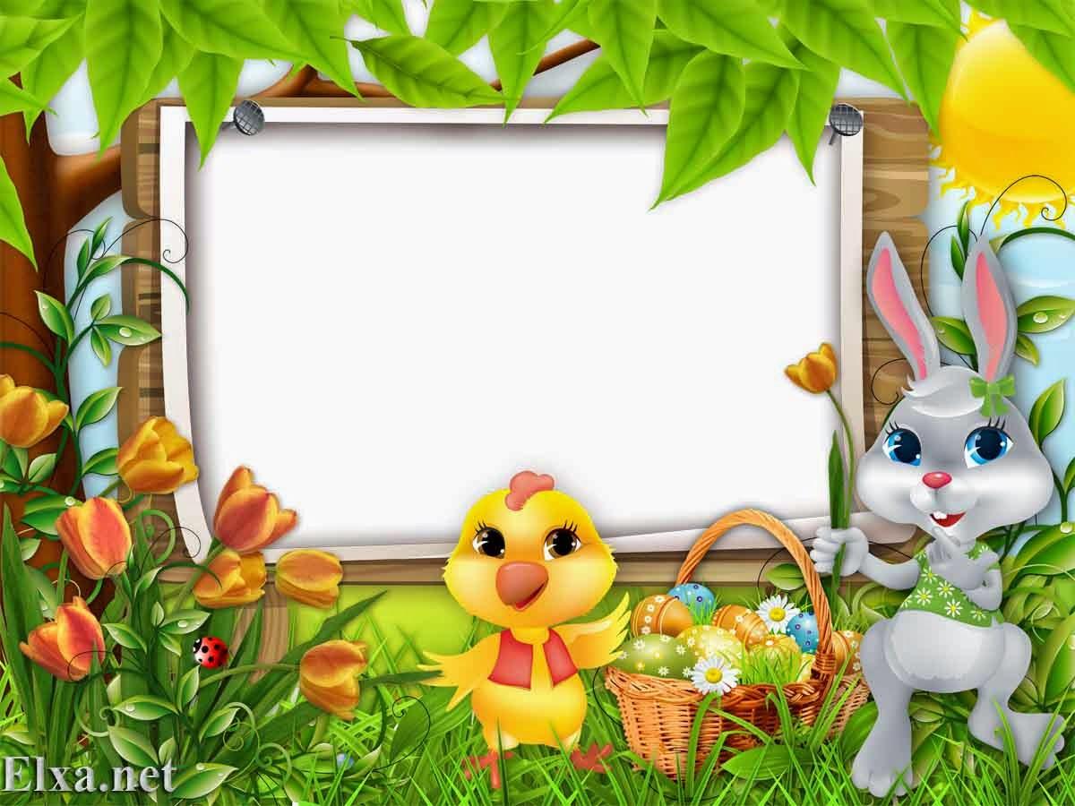 easter frame - Easter Picture Frames