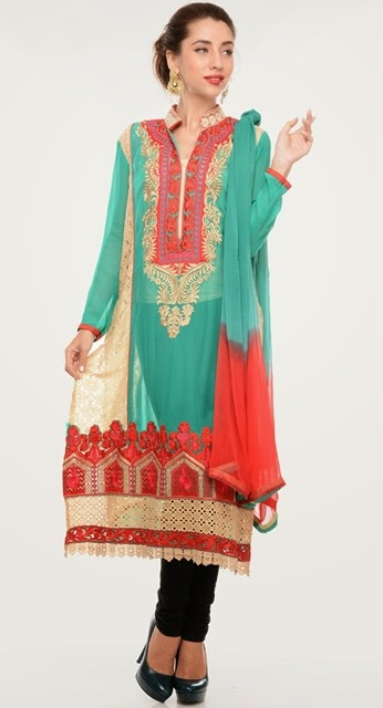Indian Eid Dress Designs 2014-2015