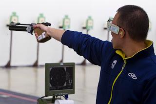 Felipe Wu (BRA) - Pistola de Ar 10m - Copa do Mundo ISSF de Carabina e Pistola 2013 - Tiro Esportivo