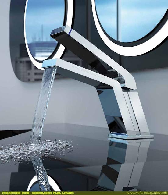 Grifo icon de teka para lavabo tu cocina y ba o for Grifos de metal