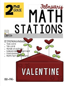Monthly Math Stations
