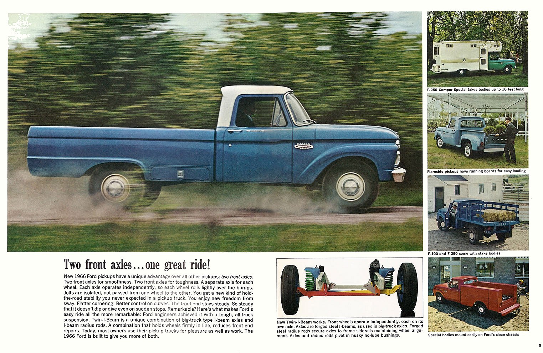 Ford F 250 Camper Special 352 V8 1965 Sales Brochure Pick Up 1964 F250 2 Doors