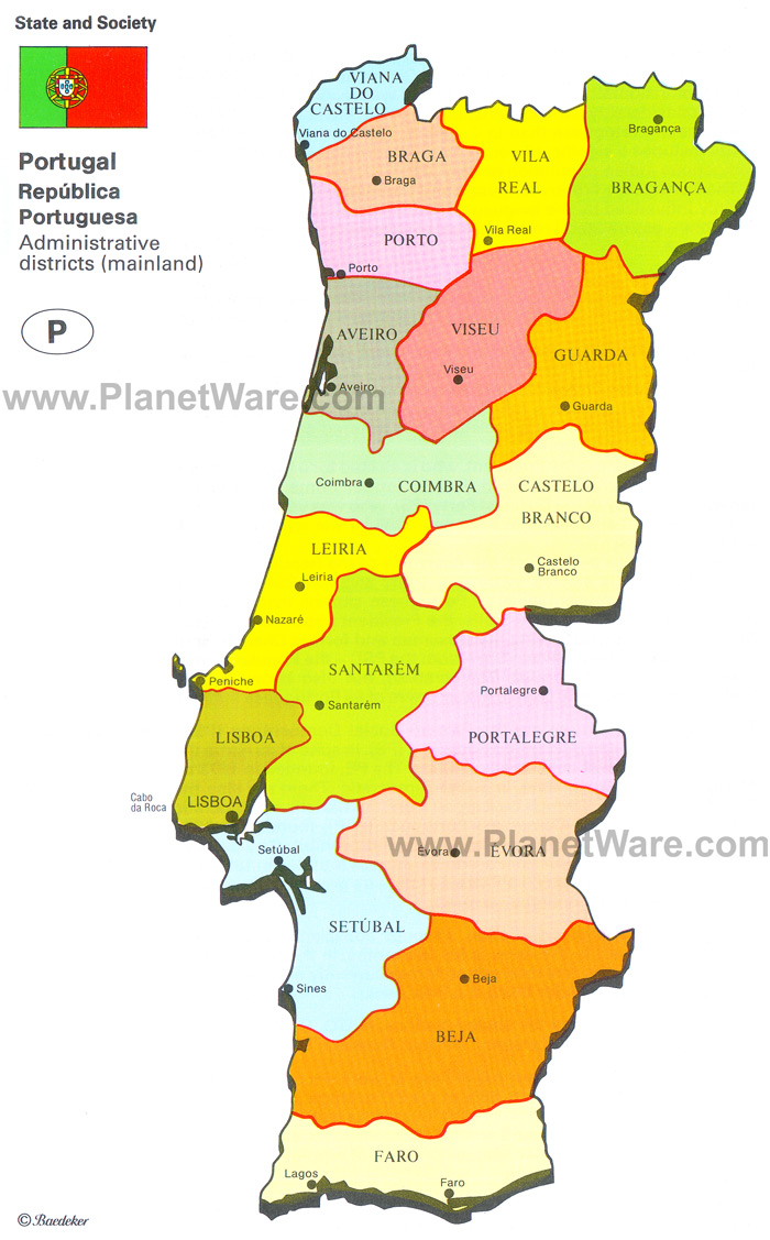 Portugal Argentina Mapa - Portugal mapa