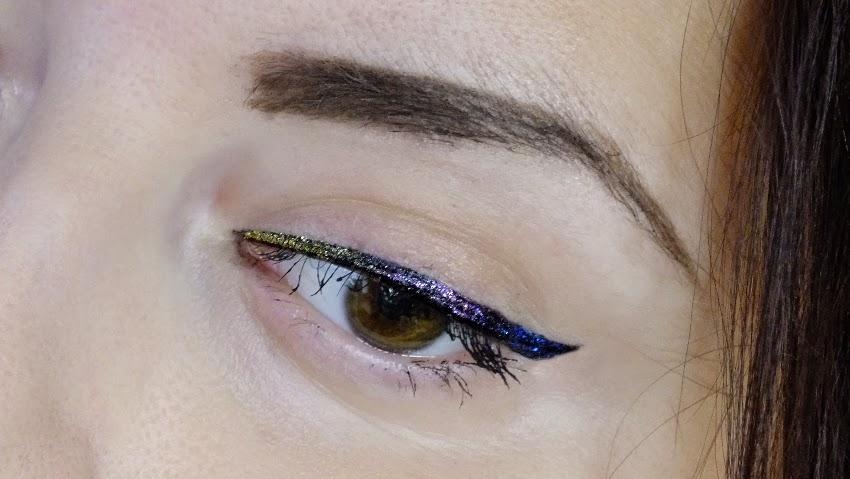 Sleek Glitter Dip It Eyeliner, makeup