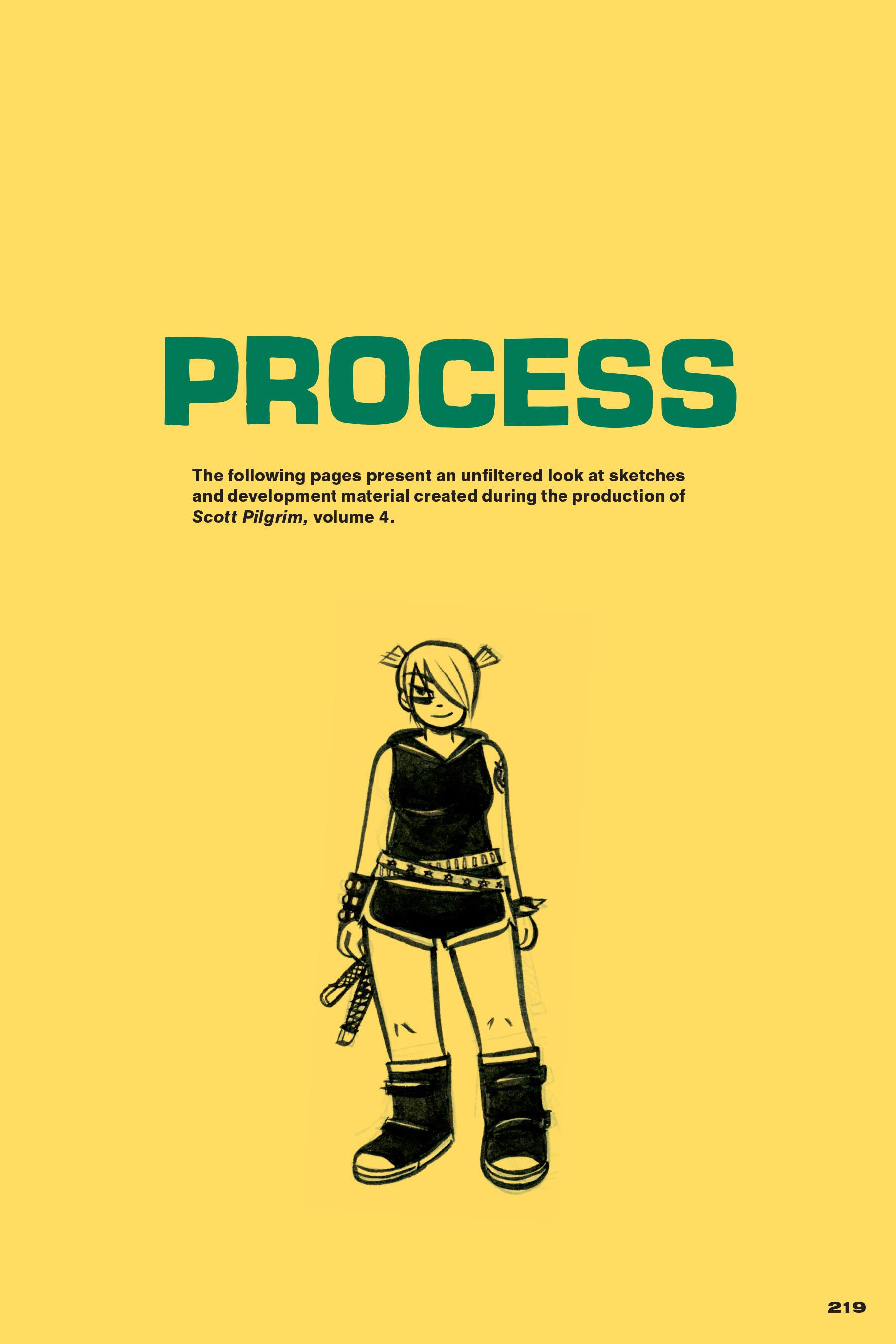 Read online Scott Pilgrim comic -  Issue #4 - 214