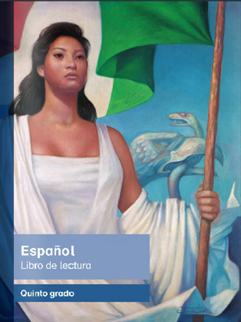 Libro de texto de Español Lecturas de Quinto Grado