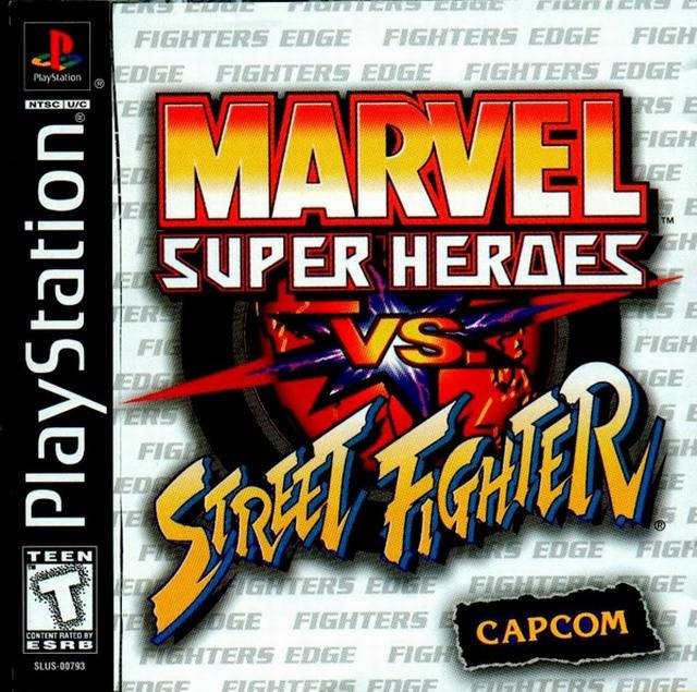 GAMES/MOVIES/SOFTWARE: Marvel Super Heroes vs. Street ...