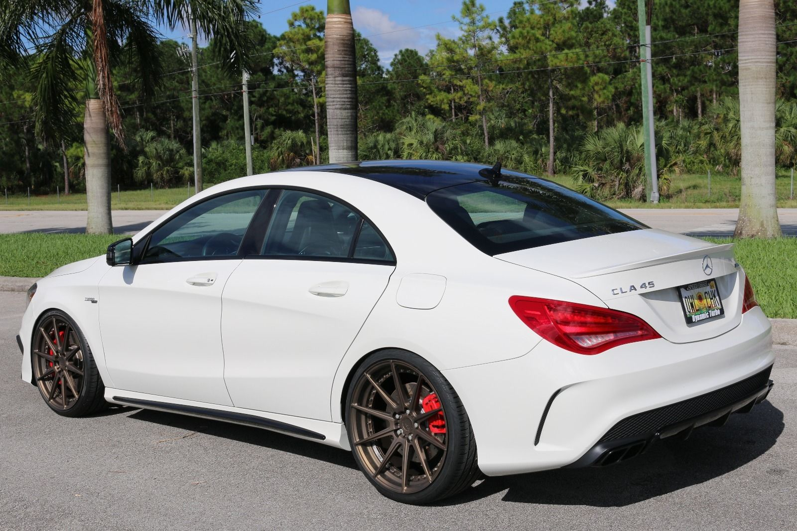 2014 mercedes benz cla45 amg on adv1 m v2 sl wheels benztuning. Cars Review. Best American Auto & Cars Review