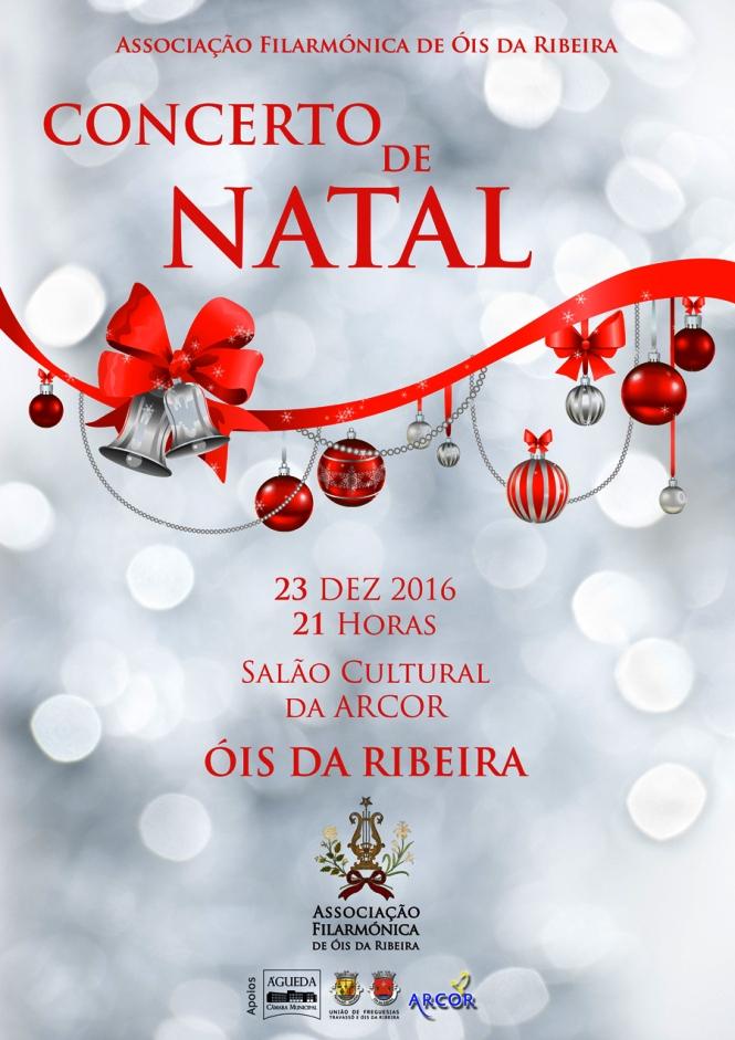 CONCERTO DE NATAL DA TUNA/FILARMÓNICA DE OIS DA RIBEIRA