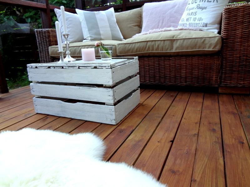 Ideas decorativas con cajas de fruta decoraci n retro - Decoracion con cajas de madera de frutas ...