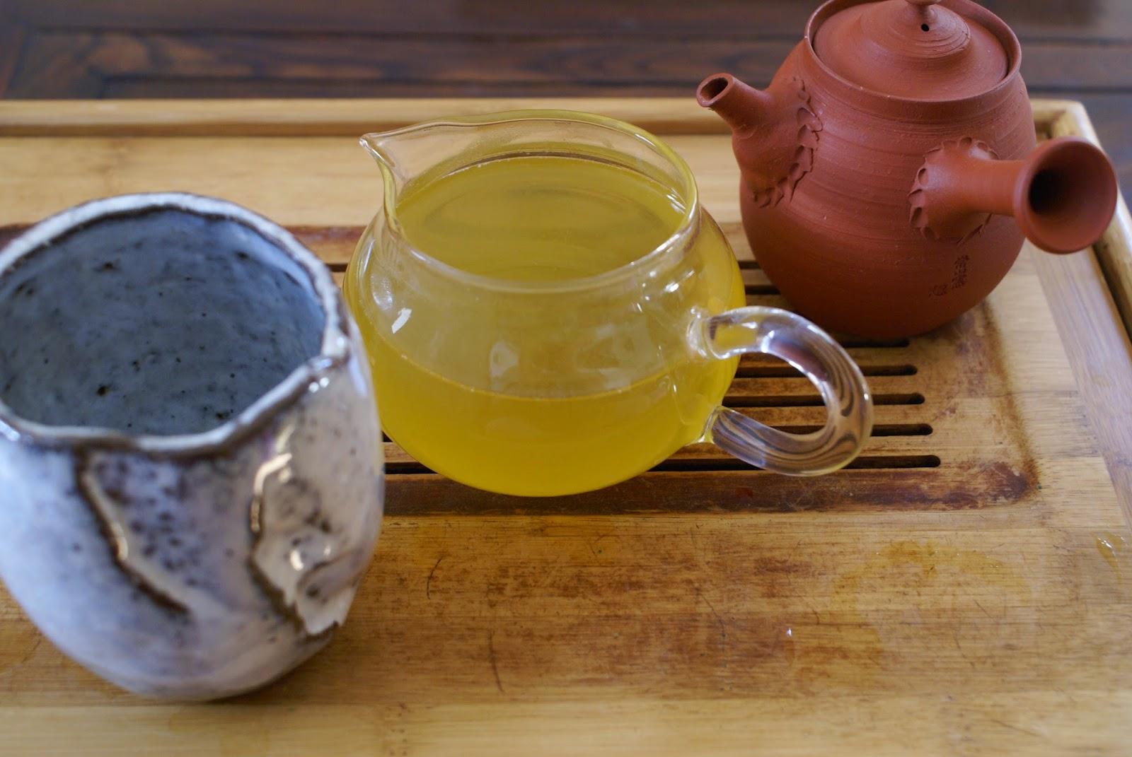 "thé vert japonais Master Obayashi's Hijiri Sencha "" Postcard Teas """