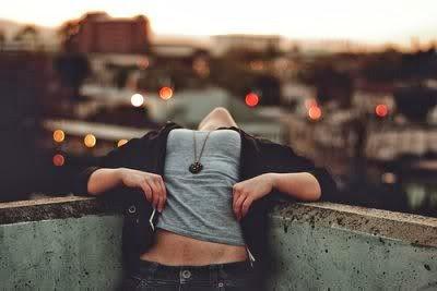 Girl Feel Happiness