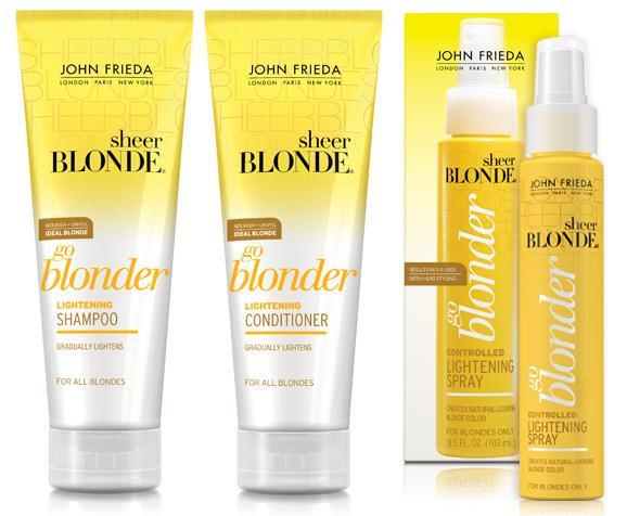 Meg S Boutique John Frieda Sheer Blonde Go Blonder Range