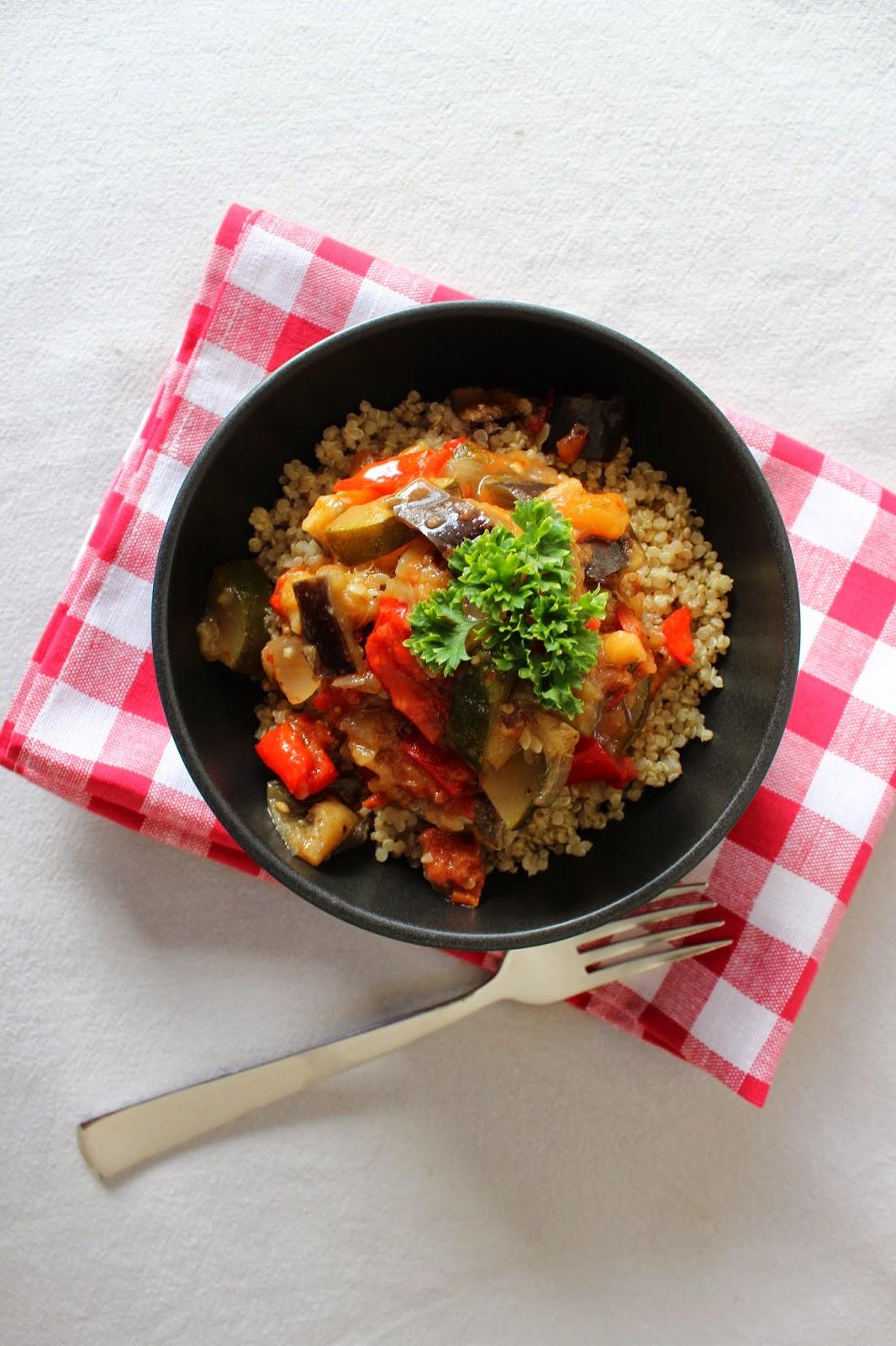 quinoa ratatouille recipe