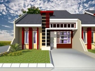 contoh gambar rumah yang ideal untuk keluarga desain