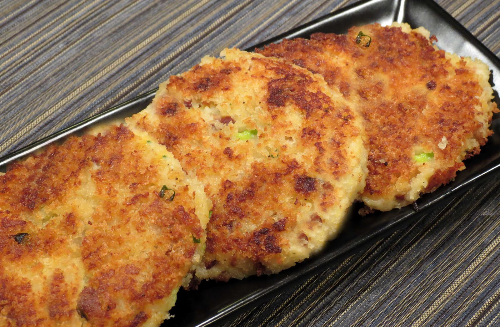 Dinner with the Welches: Loaded Potato Cakes