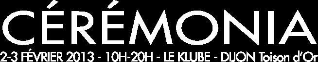 Dijon Cérémonia