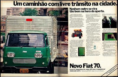 propaganda caminhão Fiat 70 - 1977, reclame 1977. propaganda anos 70. propaganda carros anos 70. reclame anos 70. Oswaldo Hernandez..