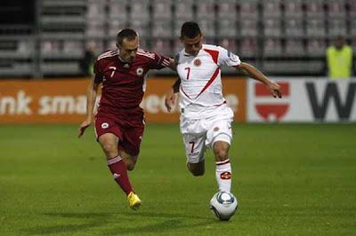 Latvia 2 - 0 Malta